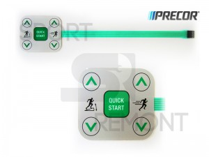 Кнопка Quick Start беговой дорожки Precor