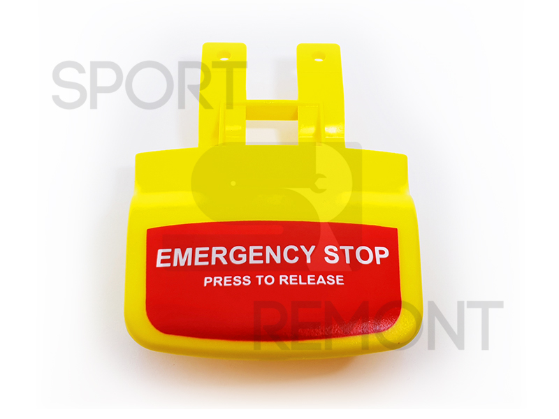 Кнопка Stop беговой дорожки Johnson T7000