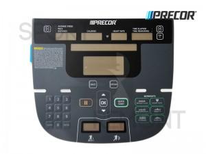 Наклейка кнопок дисплея беговой дорожки Precor P30