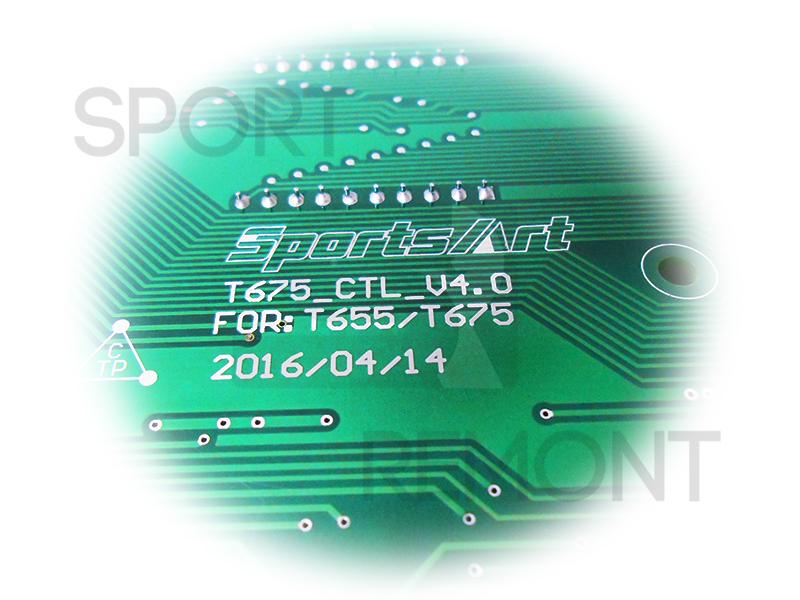 Плата консоли беговой дорожки Sports Art T655, T675