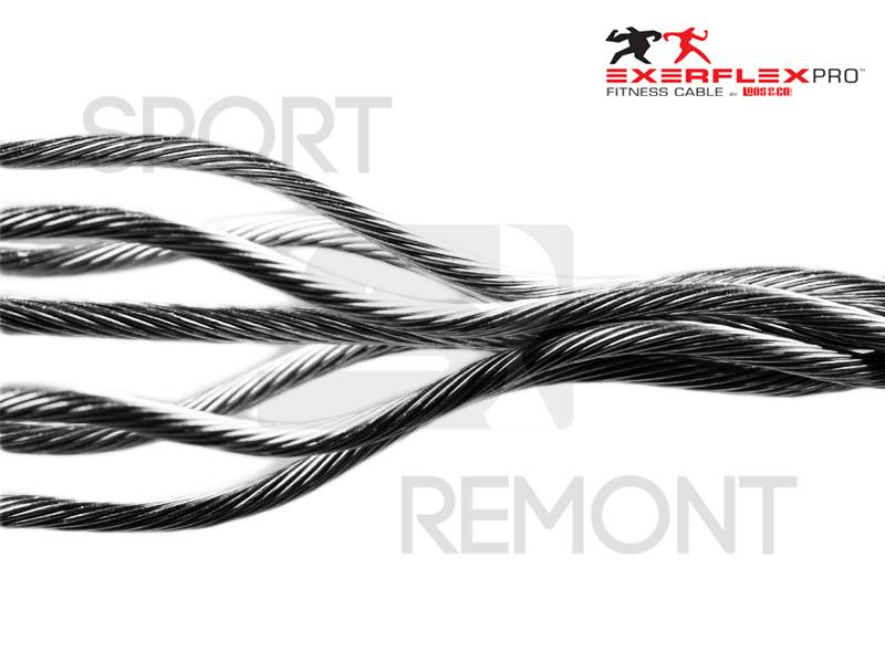 Трос для тренажеров профессиональный Exerflex Pro усиленный