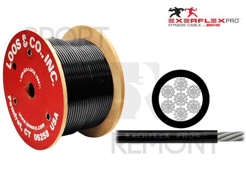 Трос для тренажеров профессиональный Exerflex Extra Pro